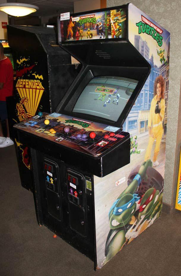 borne arcade tortue ninja