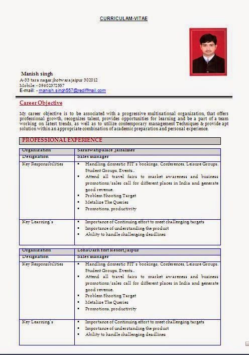 cv for college Sample Template Example ofExcellent Curriculum Vitae ...