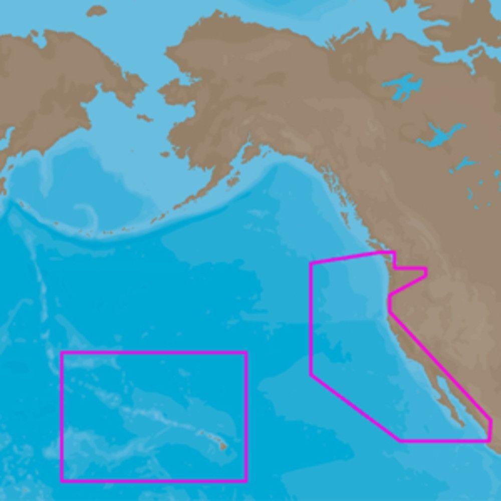 C-MAP 4D NA-D024 - USA West Coast & Hawaii - Full Content. NA-D024 ...