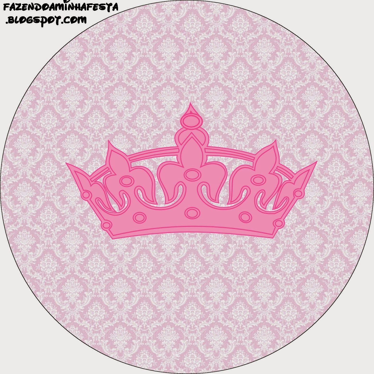 Princesa Etiquetas para Candy Bar para Imprimir Gratis