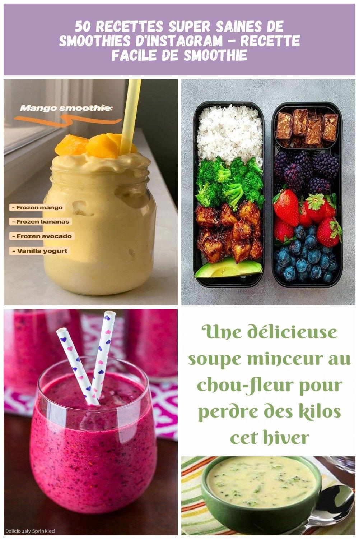 D39instagram De Facile Recette Recettes Saines Smoothie Smoothies Super 50 Super Healthy Smoothie Recipes From Instagram Ea Kpop Diet Food Diet Plan