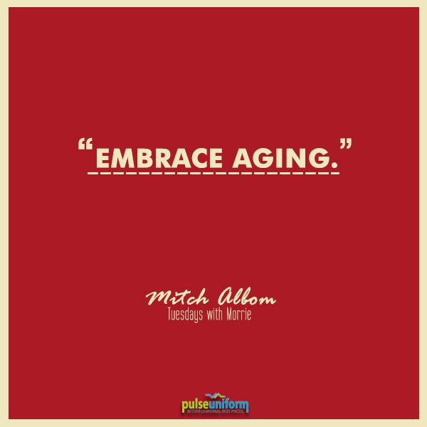Embrace #aging