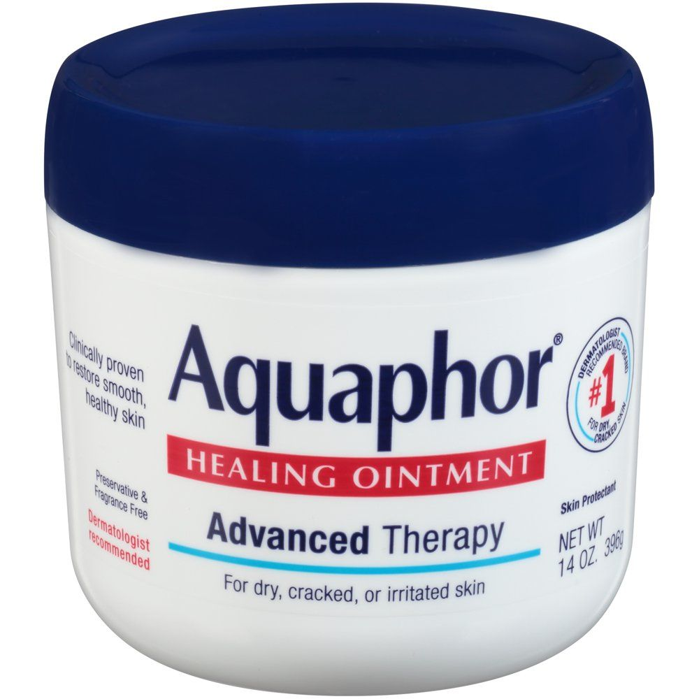 Aquaphor healing ointment for dry cracked skin use after