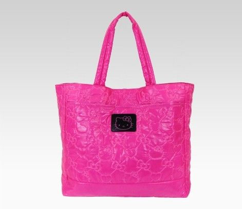 hot pink Hello Kitty tote bag. love the color!