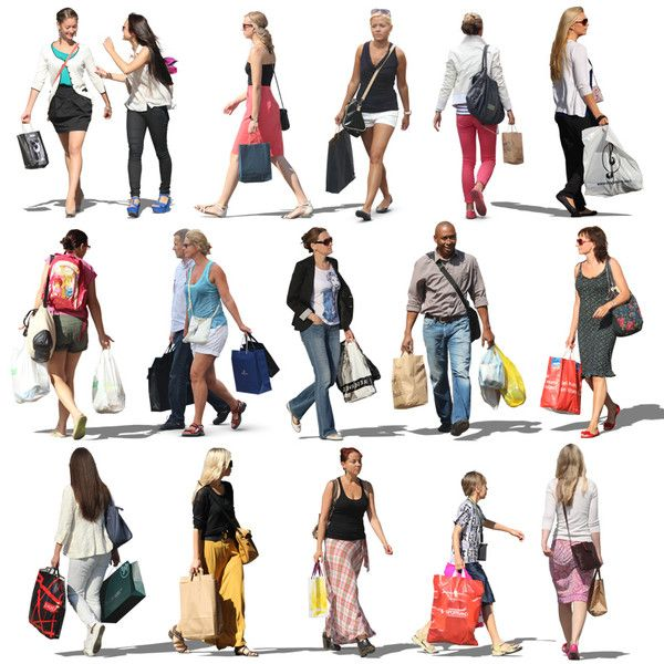 Texture Psd Shopping Shop People Silhouette People People Cutout Drawing People
