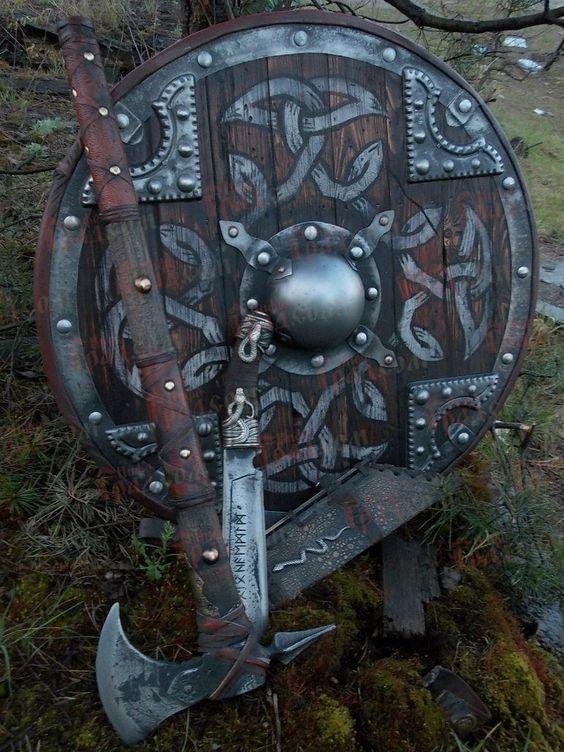 escudos vikingos reales