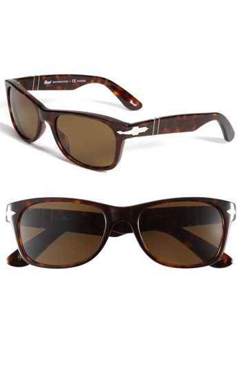 Persols polarized - these r pretty hott right now ... Making a comeback last couple years ... Love tortoise shell.. Is it summer yet???