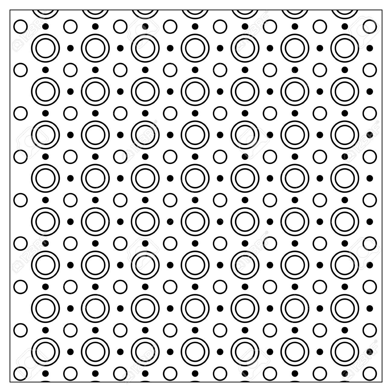 Vector De Mono De Color Diseño De Página Del Libro Para Colorear ...
