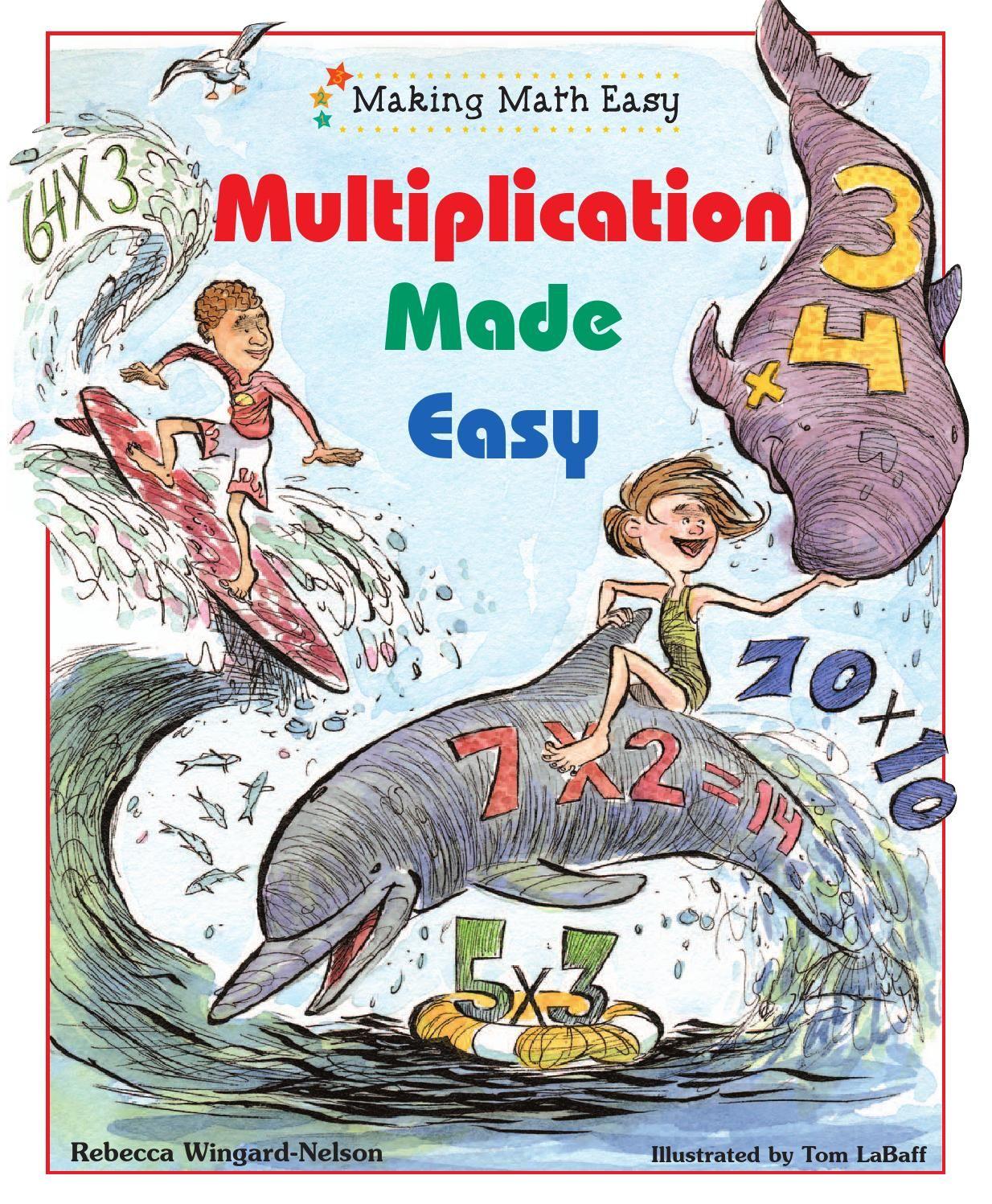 Making Math Easy Multiplication Made Easy