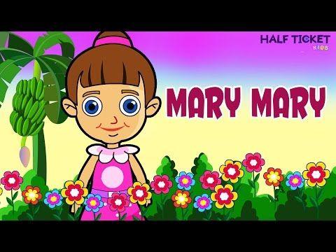 #MaryMary, can you tell us how you grow such a wonderful garden? #nurseryrhymes #kids