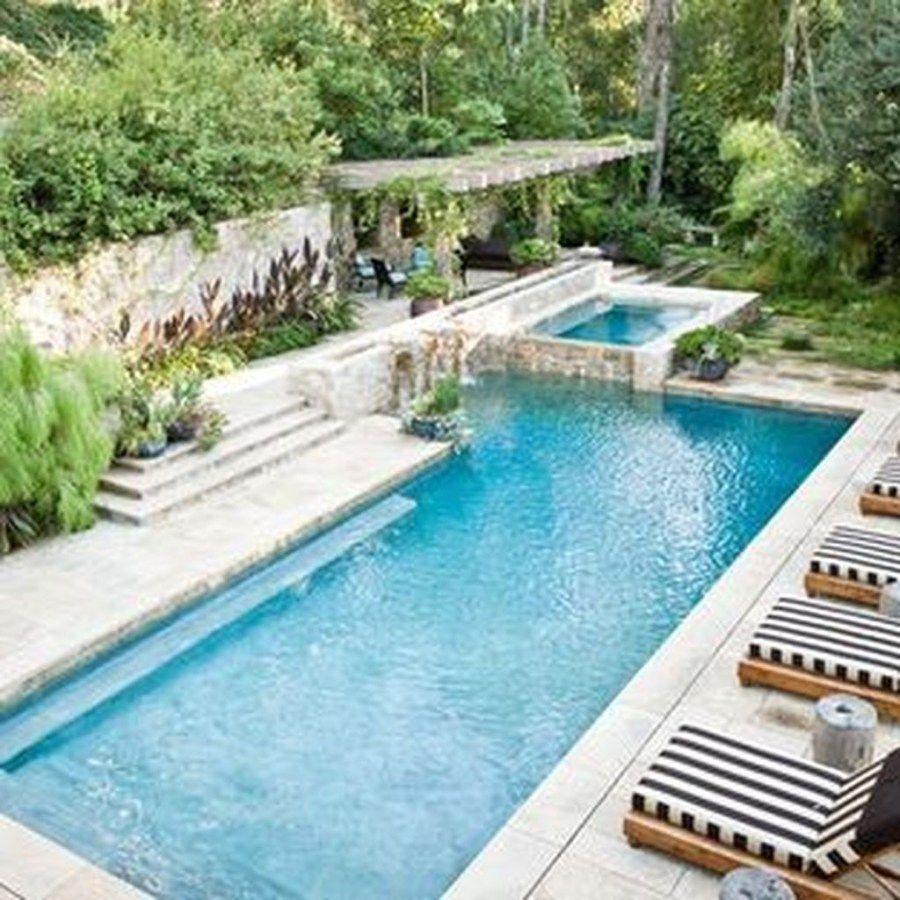50 The Best Mediterranean Swimming Pool Design Small Backyard