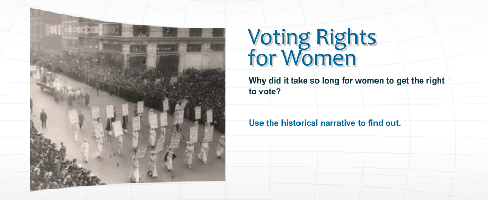 why women didnt have the right to vote essay In the united states of america, as a citizen over the age of 18 you have the right to vote voting means you have a say in who represents you in government and whether certain initiatives are passed.