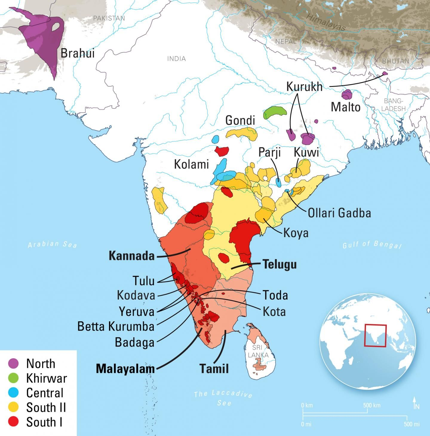 New linguistic analysis finds Dravidian language family is ...