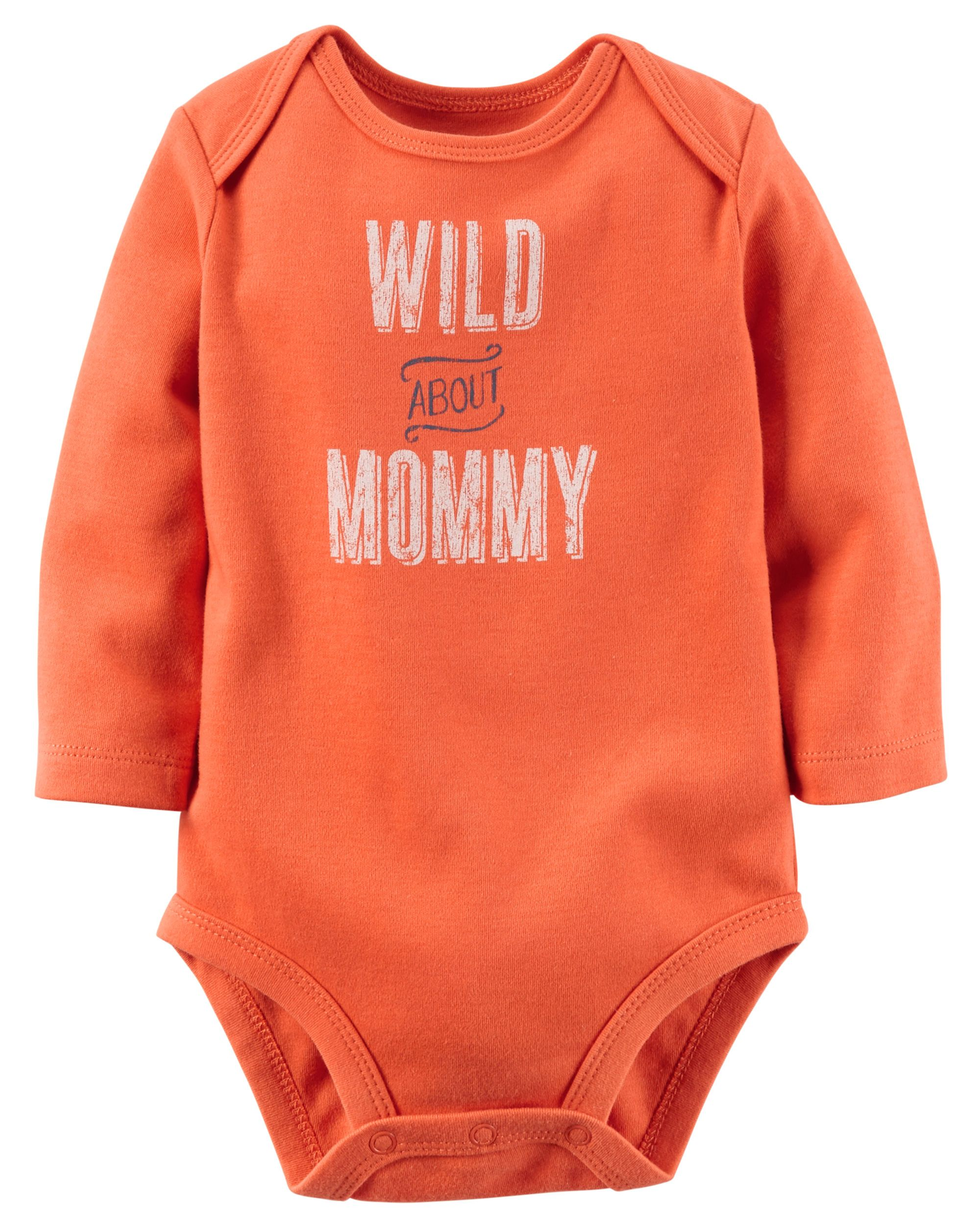 Wild About Mommy Collectible Bodysuit