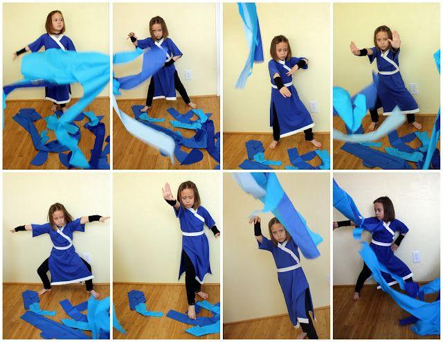 Avatar Waterbender Costume