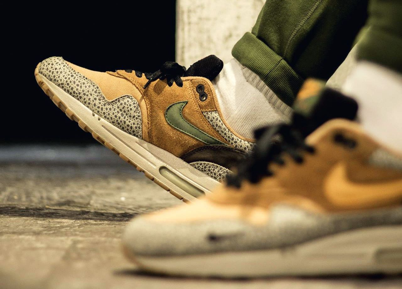 Nike Air Max 1 Atmos Safari 2002 (by tupscnvlt) Baskets