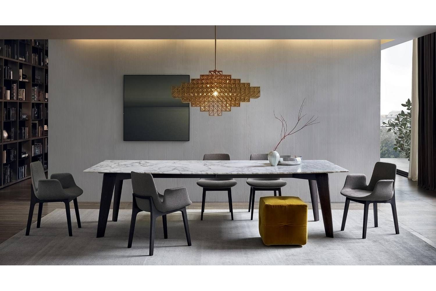 Tavolo Poliform ~ Howard table by j m massaud for poliform poliform