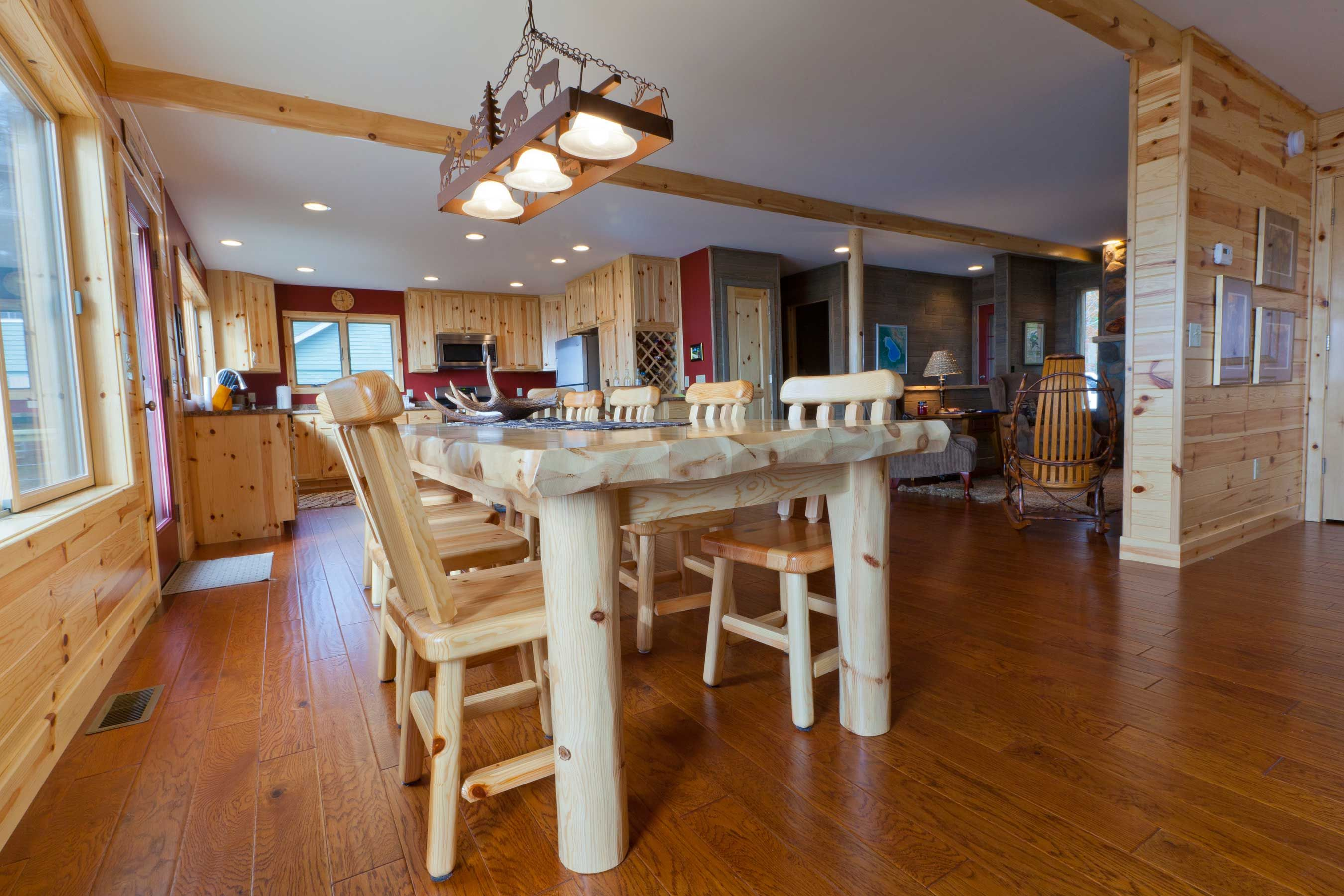 Knotty Pine and Cedar Paneling | kitchens | Pinterest