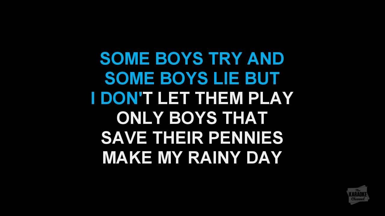 Material Girl In The Style Of Madonna Karaoke Video With Lyrics No
