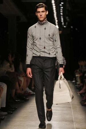 Bottega Veneta Menswear Spring Summer 2014 Milan via http://nwf.sh/19gidR8