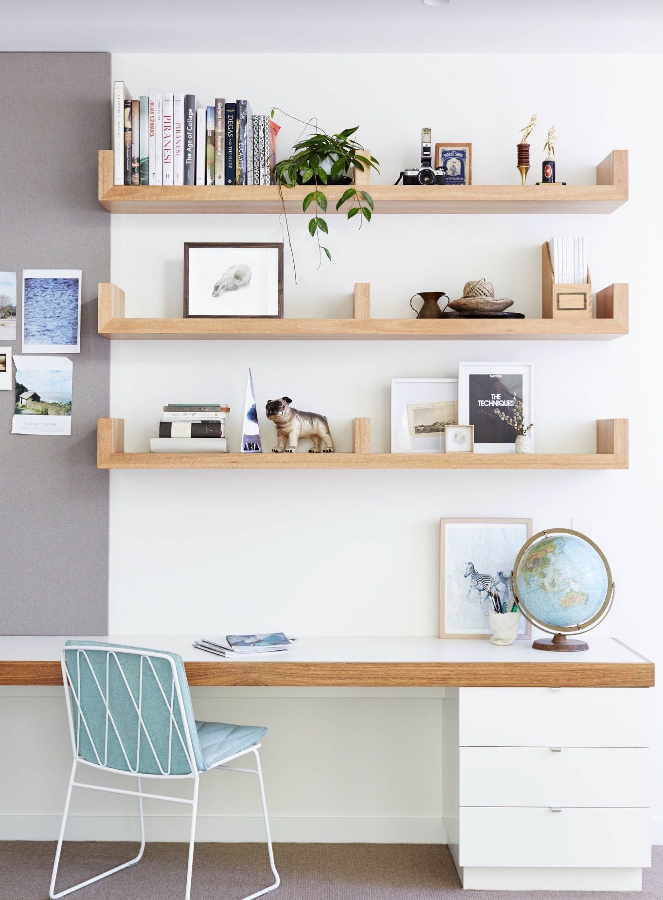 Minimalist office | home office inspiration | office decor | // Home ...