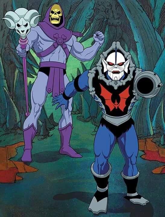 Skeletor and Hordak | Heroes and Evils | Universe art ...