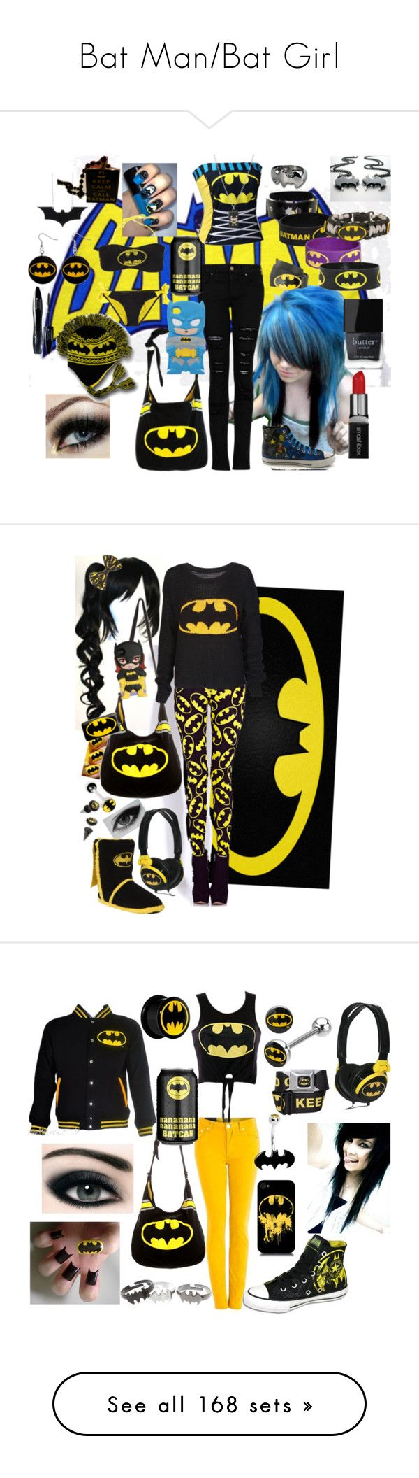 """Bat Man/Bat Girl"" by neverland-is-just-a-dream-away ❤ liked on Polyvore featuring art, Forever 21, DC Shoes, American Eagle Outfitters, Patagonia, Masquerade, Ann Demeulemeester, Rick Owens, Zara and Gucci"