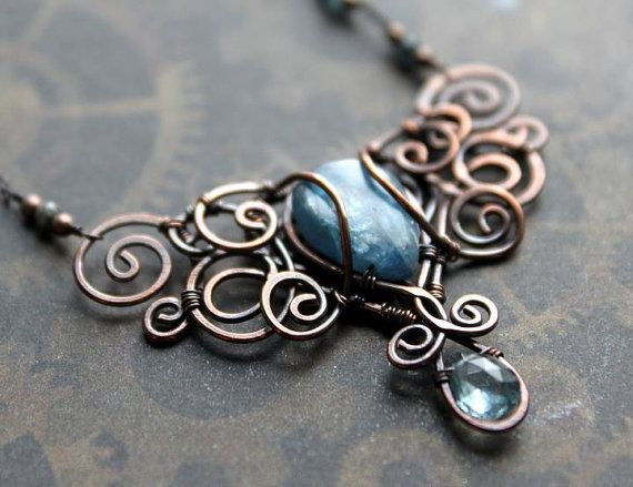 wire wrapping techniques | Available for purchase in my Etsy Shop ...