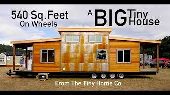 Tiny House With Slide Out Room Youtube Tiny House Hunters Tiny House Tiny Mobile House