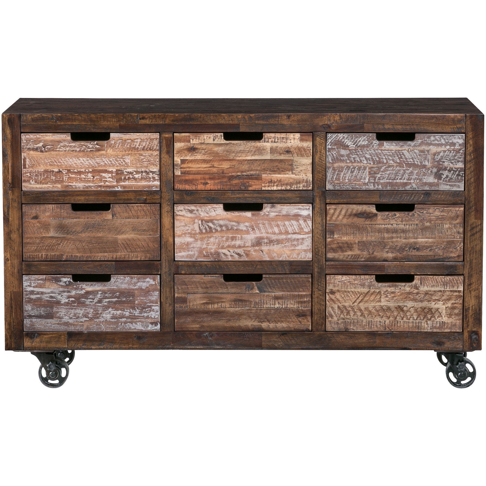 Slumberland Furniture Painted Canyon Chestnut 9 Drawer Chest In 2020 Chest Of Drawers Slumberland Furniture Modern Industrial Decor