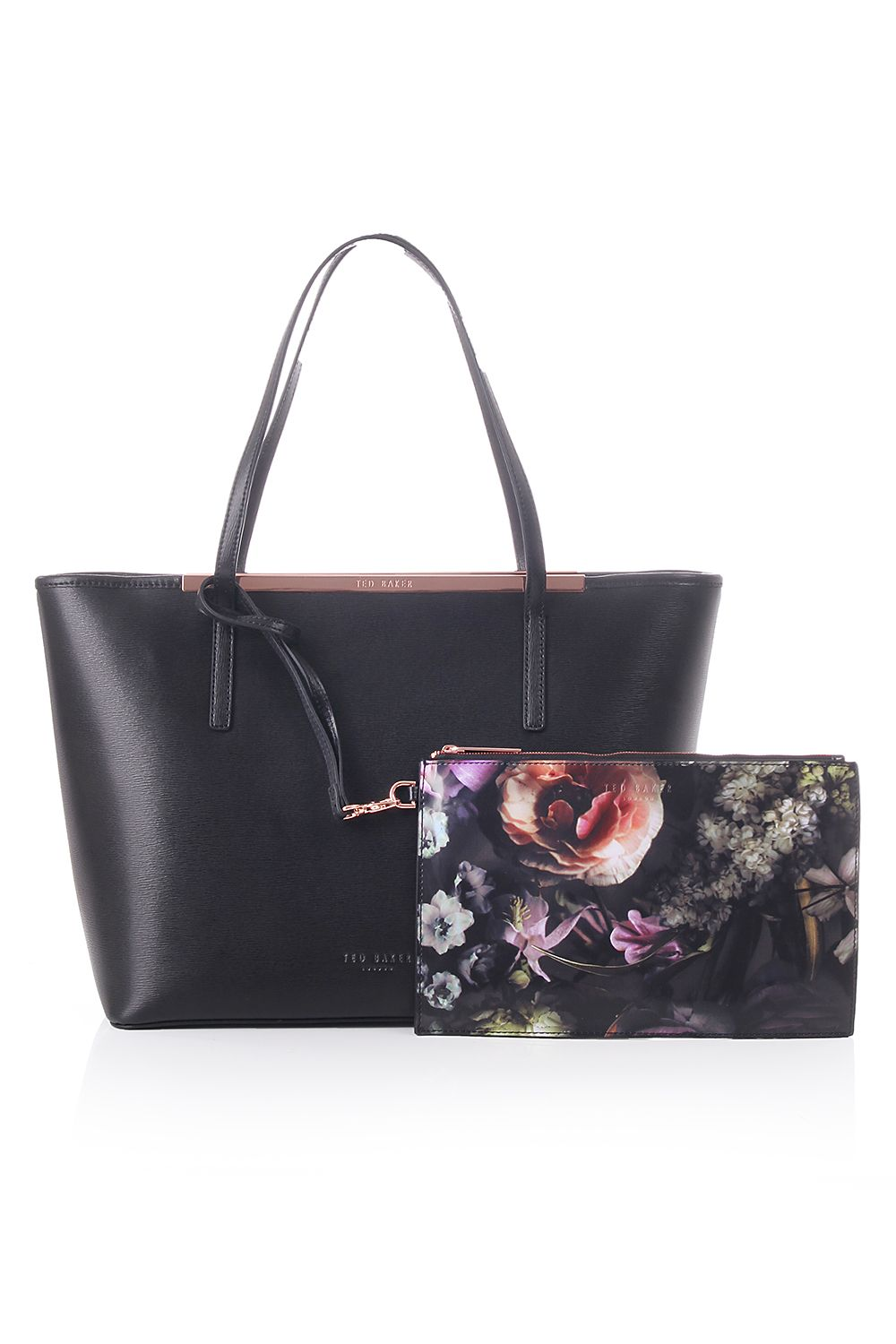 a2017d06b2 ted baker womens accessories noelle printed lining xhatch shopper ...