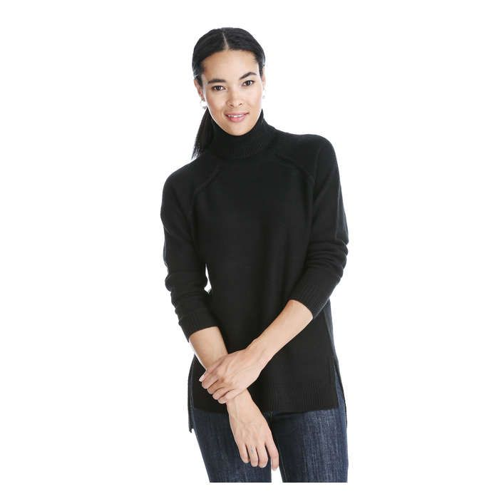 Turtleneck Tunic Sweater | Tunic sweater, Joe fresh and Tunics