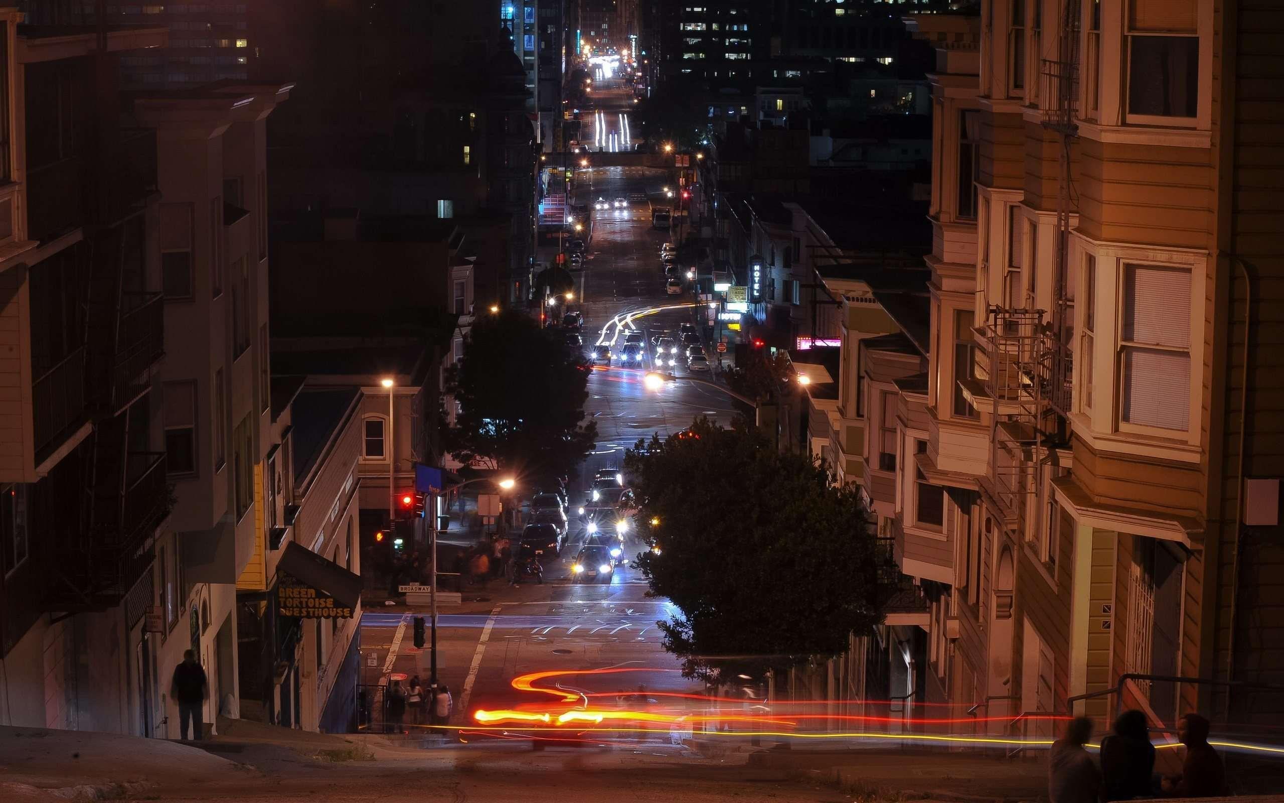San Francisco Night Widescreen Wallpaper /41