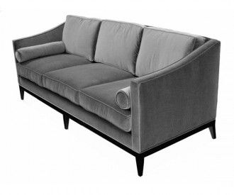 elegant art deco inspired sofa bolsters jeffrey braun danner rh pinterest com