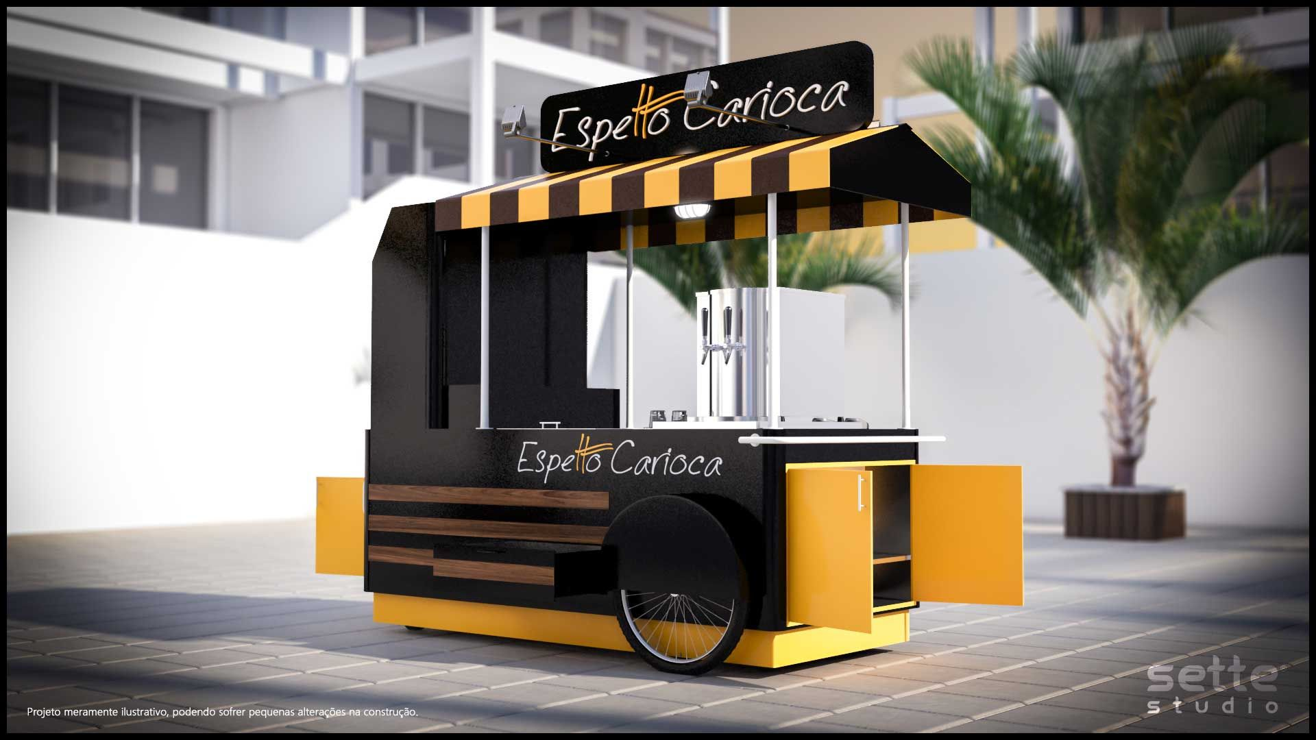 espetto carioca food bikes barra movil quiosco e comida. Black Bedroom Furniture Sets. Home Design Ideas