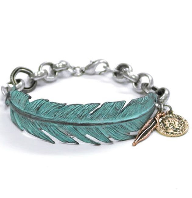 Western Feather Bracelet Silver Jewellery Pinterest Westerns Feathers And Jewelry