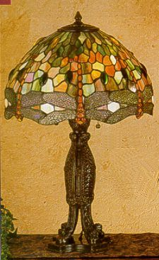 Hanging Head Dragonfly Table Lamp