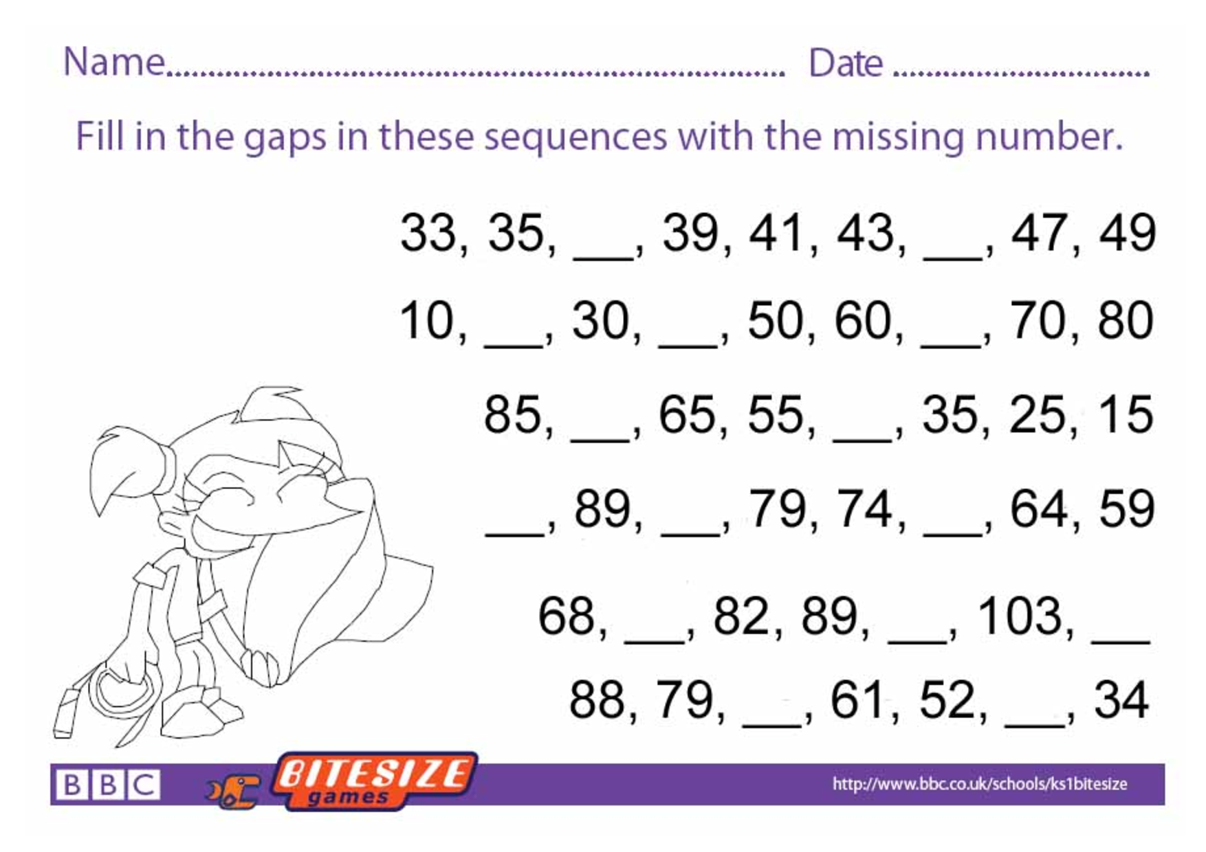 Key Stage 2 Maths Worksheets To Print math worksheets – Maths Worksheets Ks3 Printable