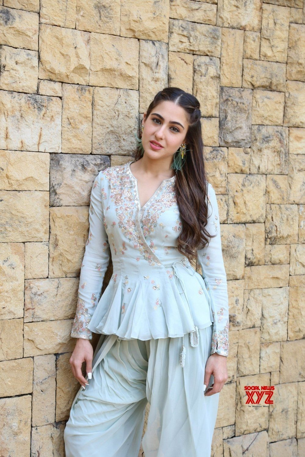 Sara Ali Khan looks beautiful during the promotions of