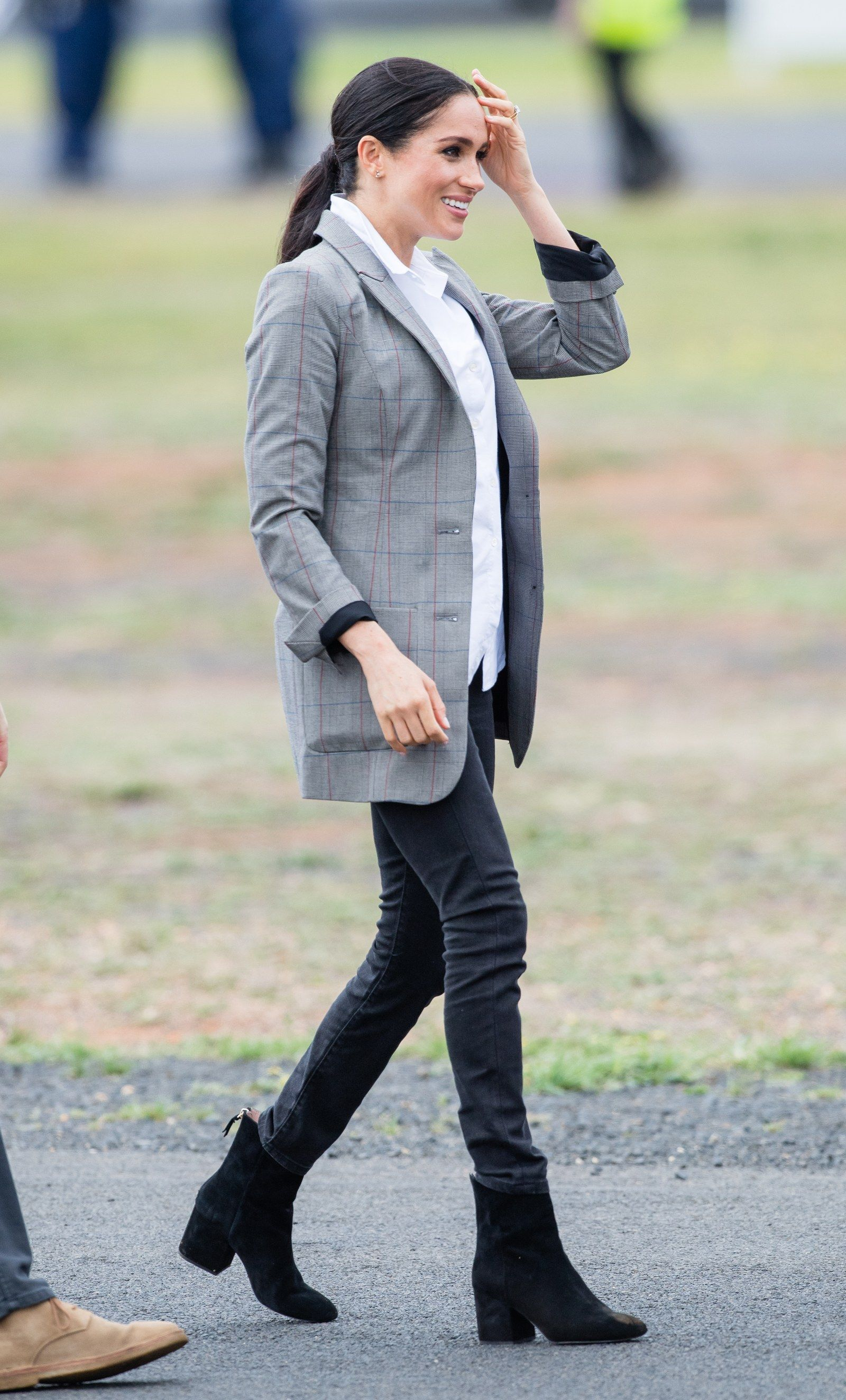 ffd46a8a3c Meghan Markle Best Fall Outfits  How To Get Her Look - Check it out on  Glamour.com