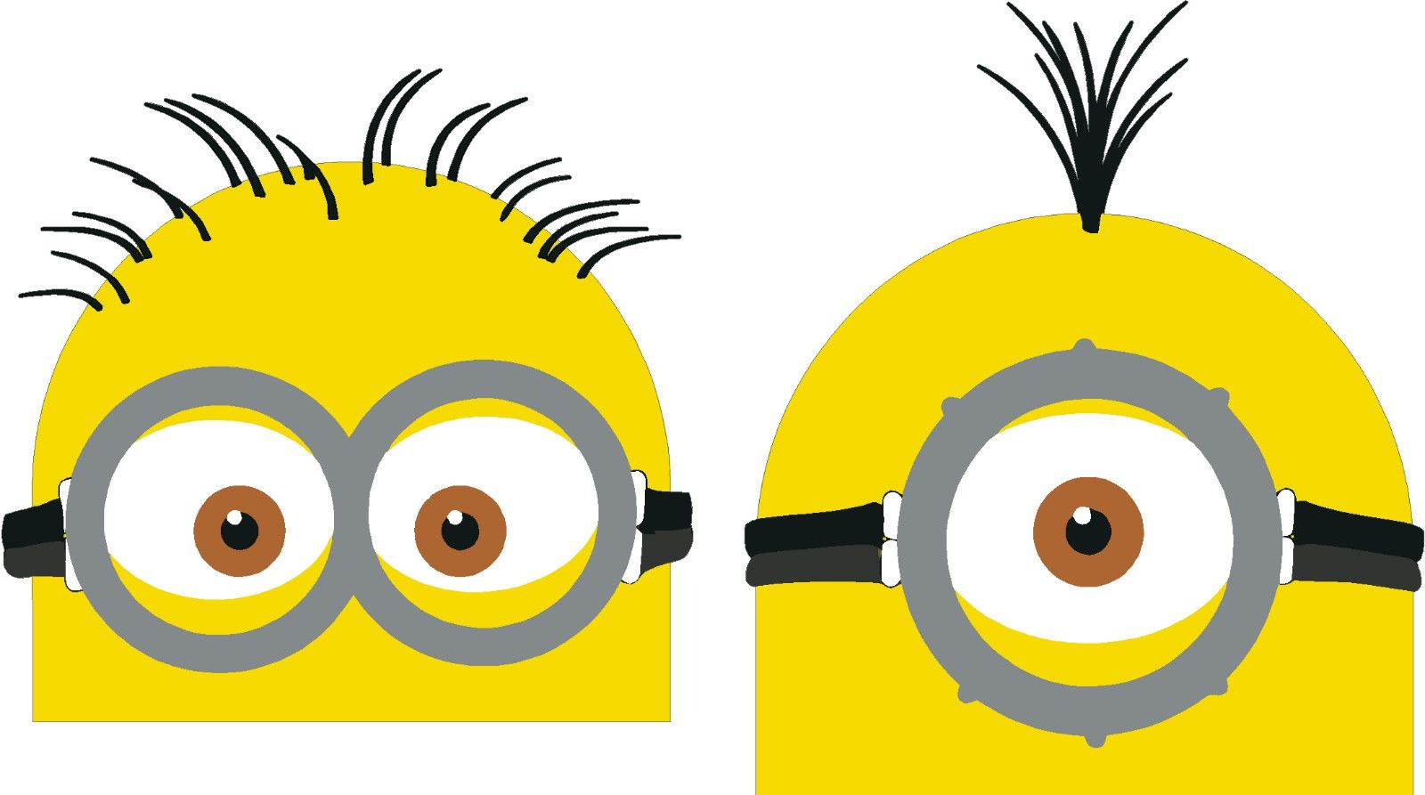 MINION 2 Peeper Peeping Minions Despicable me Decal Sticker JDM MEME LOL VECTOR