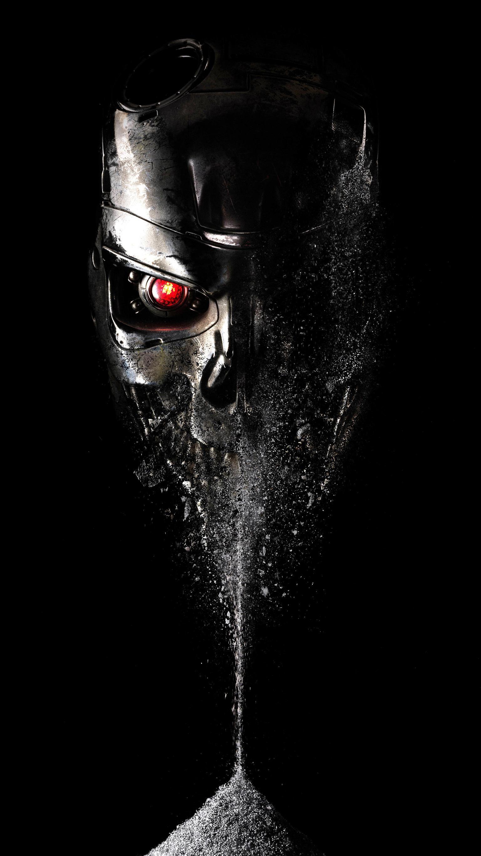 Terminator Genisys (2015) Phone Wallpaper Predador, Arte