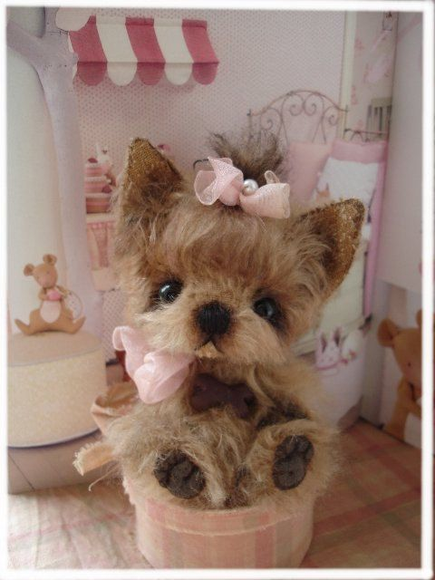 Pdf Sofort Download Schnitt Ebook Yorkshire Terrier Pebbles 13 Cm Teddy Manufaktur De Eileen Hecht Stuffed Animal Patterns Yorkshire Terrier Dog Crafts