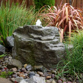 Mountain Spring Pondless Fountain Landscaping With Rocks Rock Fountain Water Features In The Garden