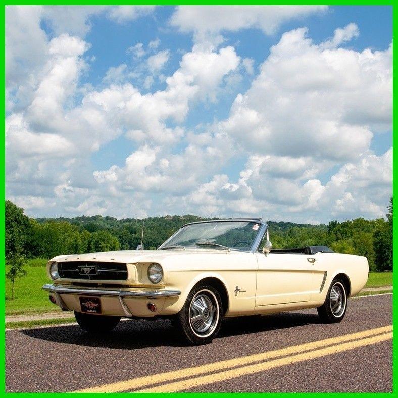 1965 Ford Mustang Convertible Correct 1964 Mustang Convertible