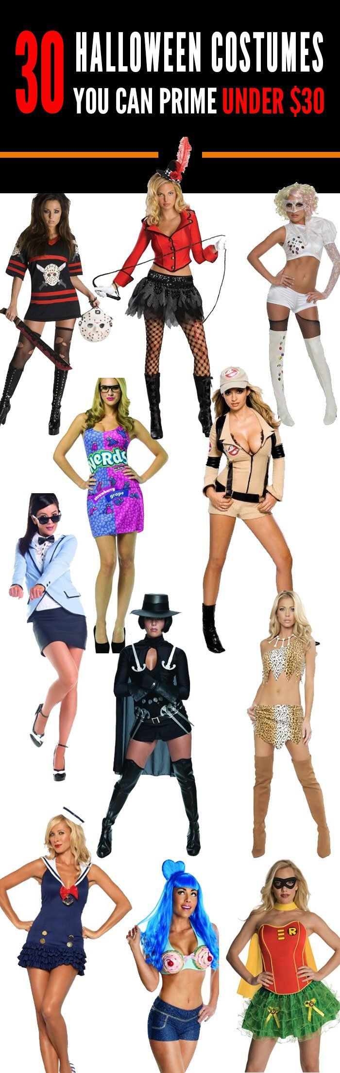 The 30 Best Halloween Costumes You Can Get on Amazon Prime Under $30