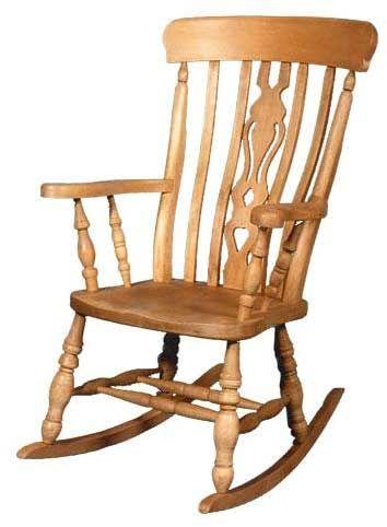 Awesome Beech Fiddle Back Rocking Chair Bellie Boo Rooming Inzonedesignstudio Interior Chair Design Inzonedesignstudiocom