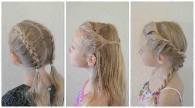 Easy Back-to-School Hair-Braid Tutorials | School hair, Braid ...