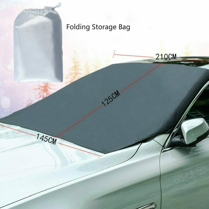 Automobile sunshade cover car windshield snow sun