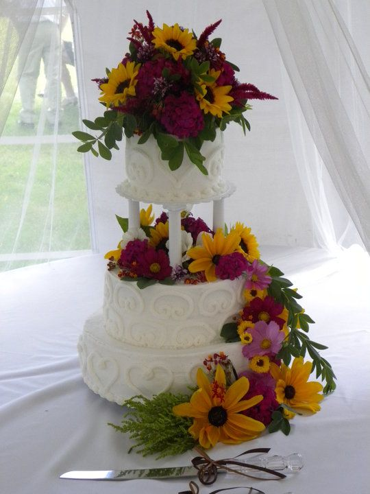 Wild Flowers Makes this cake look its best Black Eyed Susans